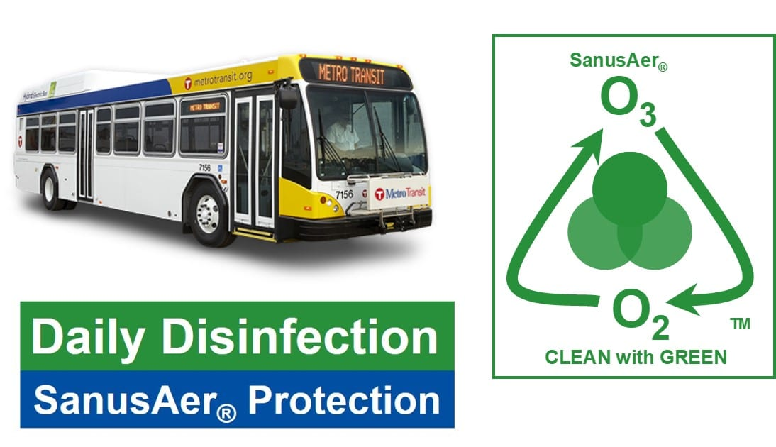 Disinfect Buses Daily to Protect Passengers