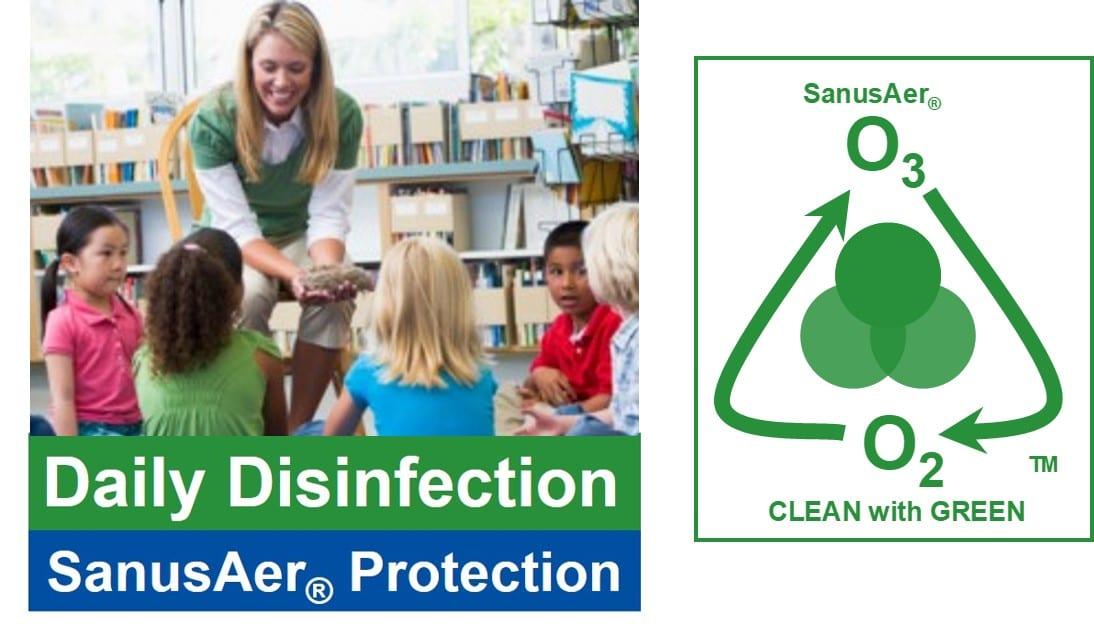 Disinfect and Deodorize Children's Schools